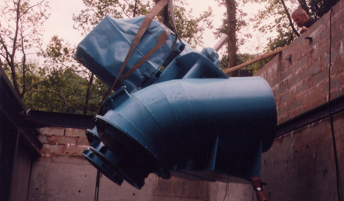 Evans Engineering modular turbine 16